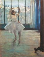 La danseuse chez le photographe