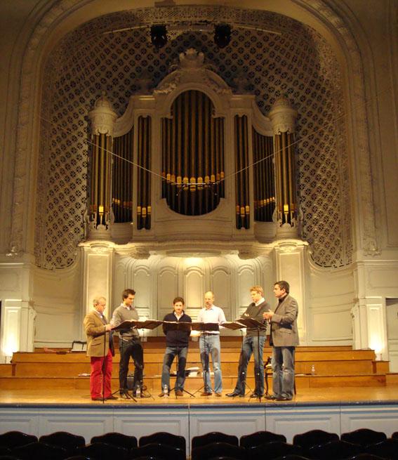 King's singers salle gaveau